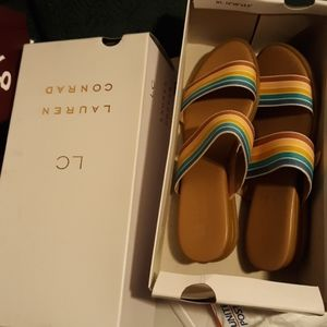 And you brand new rainbow colored Lauren Conrad sh